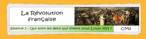 Histoire - La Révolution française
