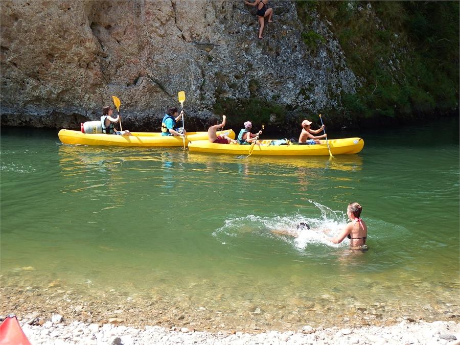 Saint Héminie , le site des canoés-Kayak