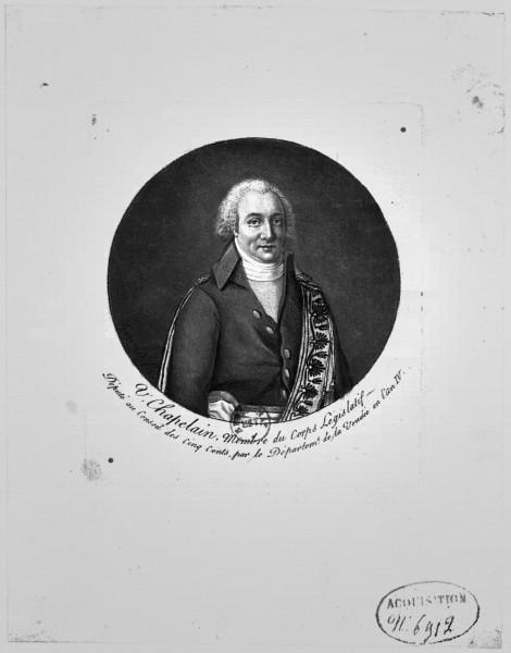 Honoré Chapelain, guillotiné....