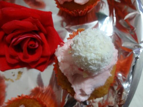 Cupcakes Pâte à tartiner/Noix de Coco