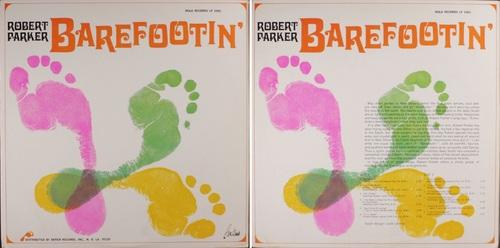 ROBERT PARKER - BAREFOOTIN' album Nola LP-1001