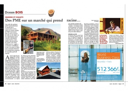 Avril 2012 Magazine Objectif Filière Bois