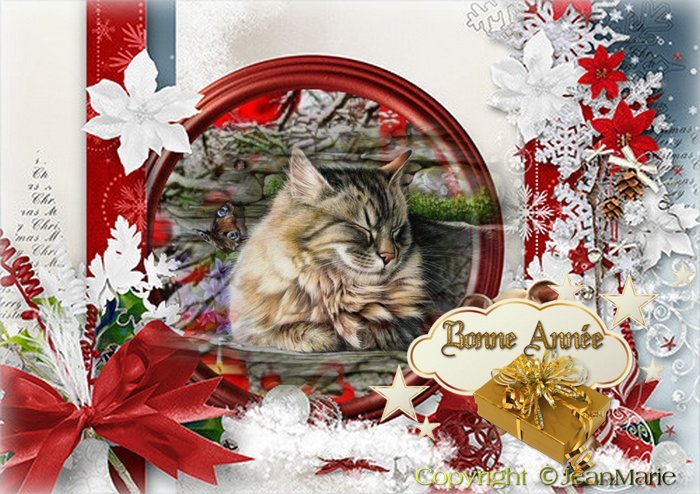 carte bonne année animale servez vous