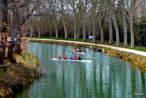 Canal du Midi : randonnée de début mars ...