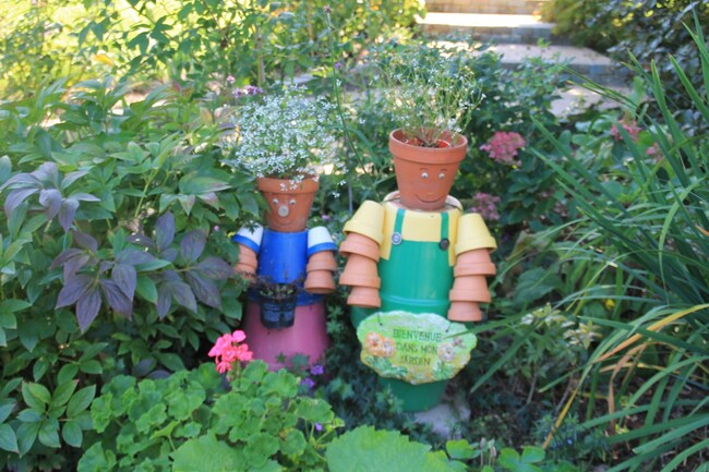 O paisible jardin