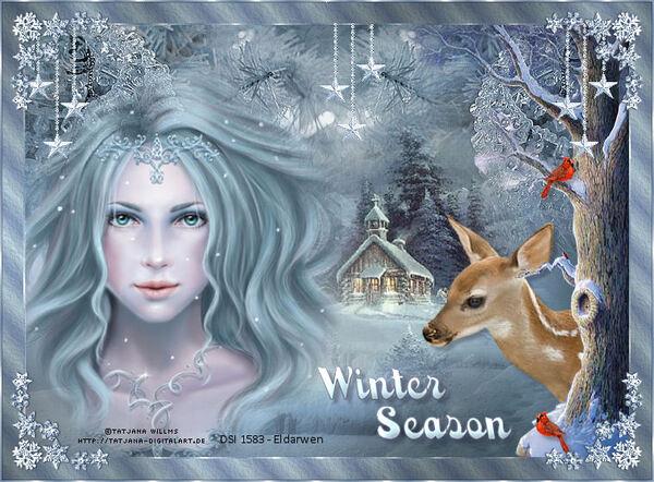Tutoriel Winter season de Lea Design
