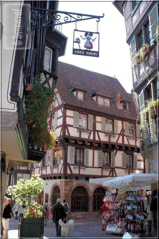 Alsace Haut-Rhin Colmar Maison rue des Marchands