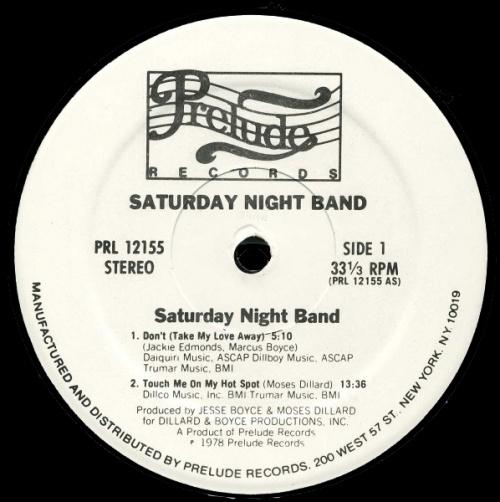 """1978 : Album """" Come On Dance , Dance """" Prelude Records PRL 12155 [ US ]"""