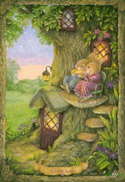 Ce petit monde merveilleux aux beaux jours