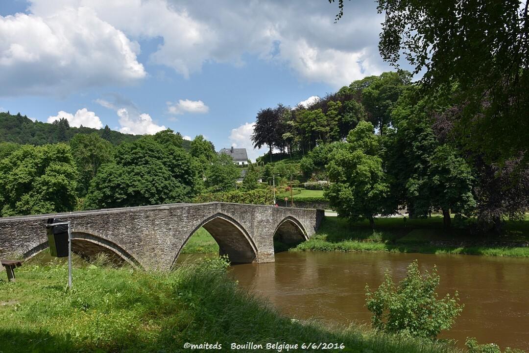 Pont de Cordemoy ou de la poulie - Bouillon - Belgique
