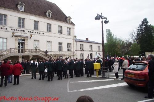 L'anniversaire du 8 mai 1945 fêté à Châtillon sur Seine