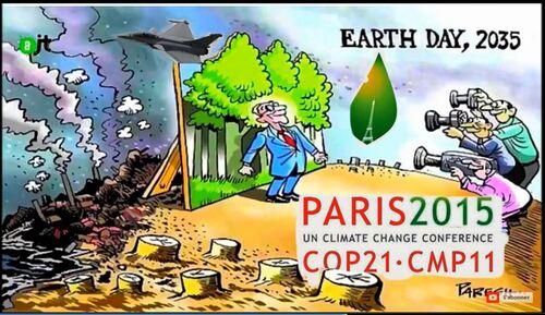 La grande messe pour le climat  et l'invention du délit de blasphème scientifique
