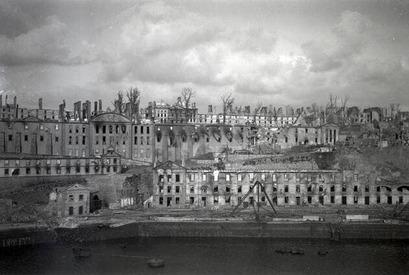Les destructions de Brest, en 1944.