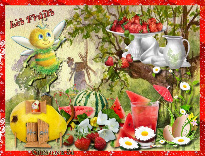 Nouveau défi pour Cerise déco  les fruits & Marjolaine Pâques