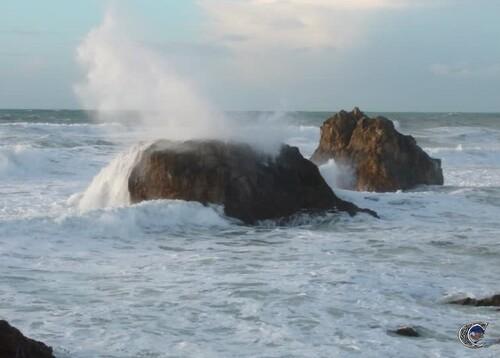 coup de vent sur Biarritz