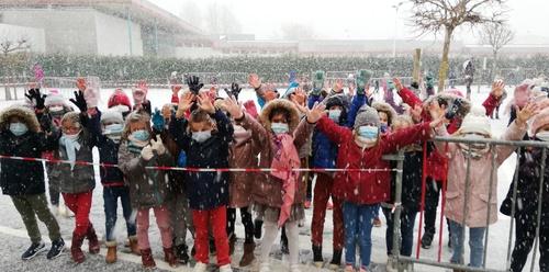 Les CP sous la neige