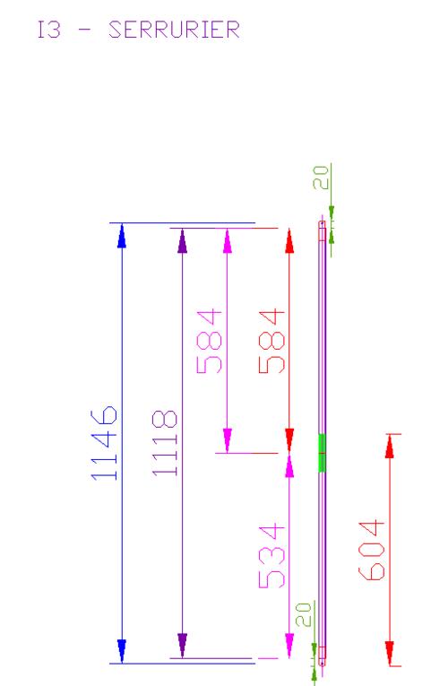 I3 plan tubes serrurier