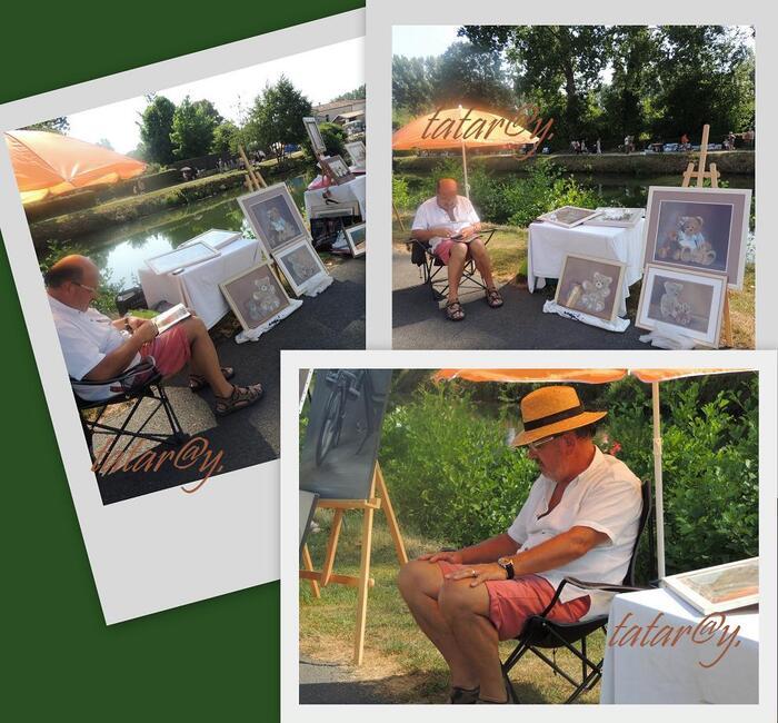 Festival de peinture. Magné. 4)