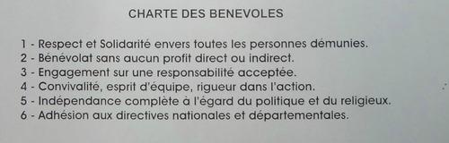 La campagne 2011 des Restos du Coeur à Châtillon sur Seine...