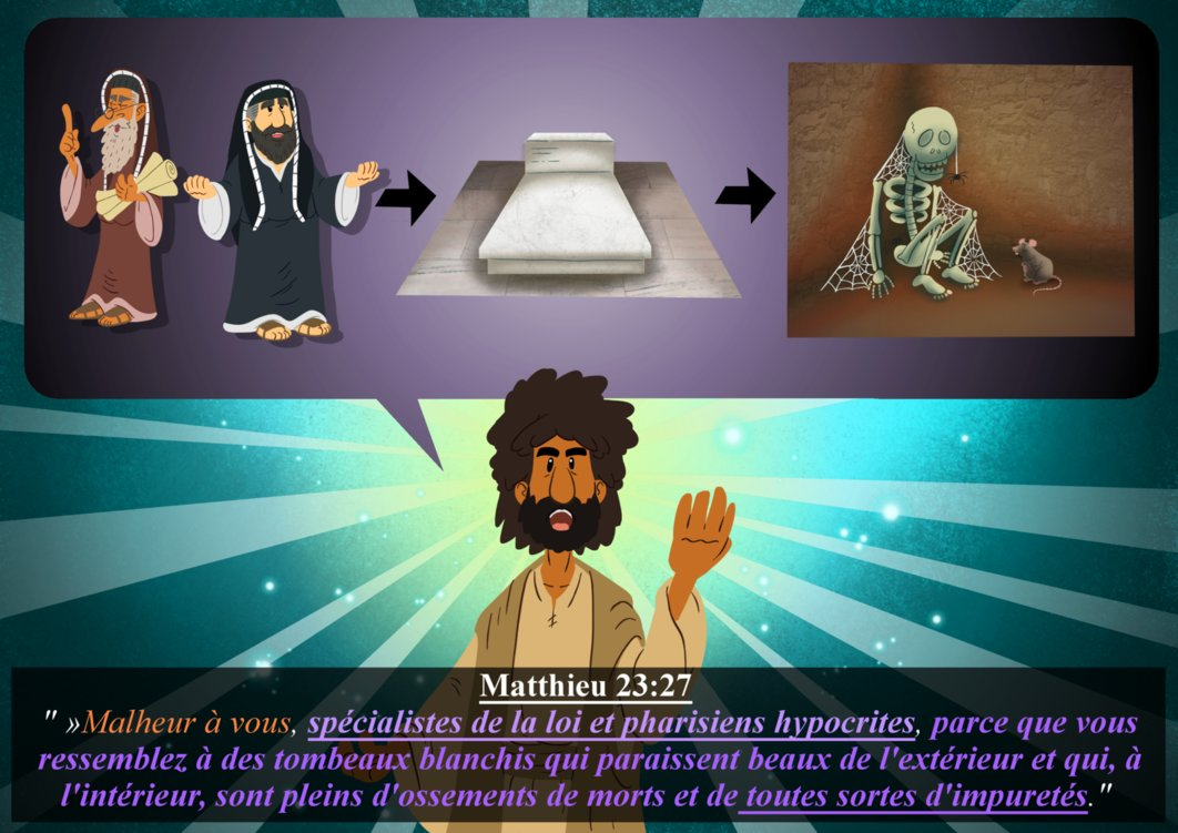 matthieu 23:27 by alexpixels