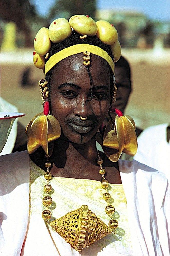 Nigeria |  Peul/Fulani woman