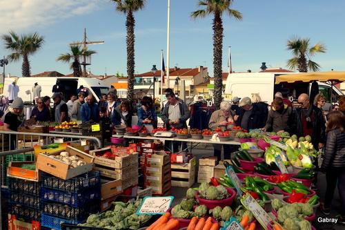 Le Barcarès: au marché!