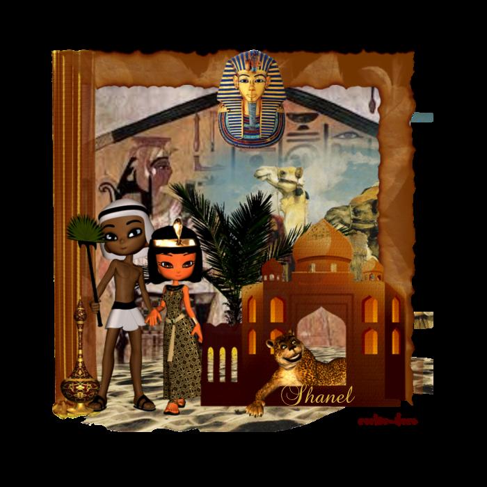 vos créations1 avec mon cluster egypte
