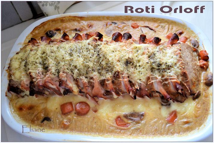 Roti de porc orloff eliane - Roti de porc orloff maison ...