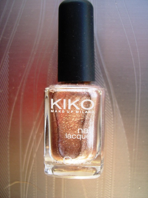 Swatch : Kiko - Beige Chrome - n° 303