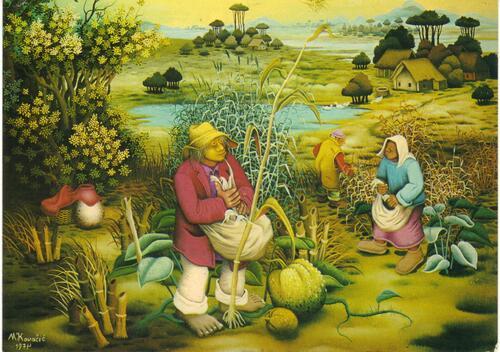 4. Mijo Kovacic, le Brueghel de la Podravina!