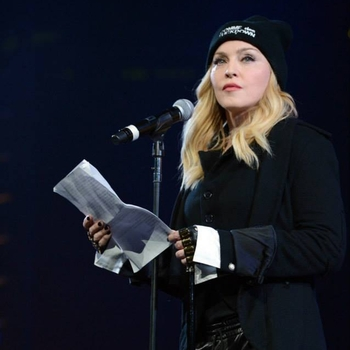 Madonna Introduced Pussy Riot at Amnesty International Concert in Brooklyn - 2014 02 05