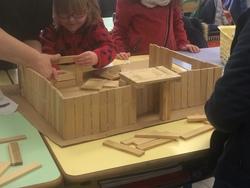 La nouvelle école maternelle: du plan 3D à la maquette...