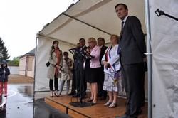 Inauguration du musée Farcot à Sainville