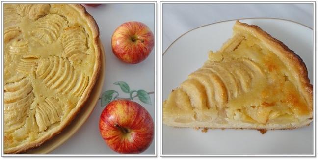 Tarte normande pomme et amande - 2ème