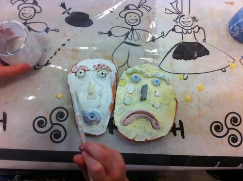 Atelier sculpture : dernière séance