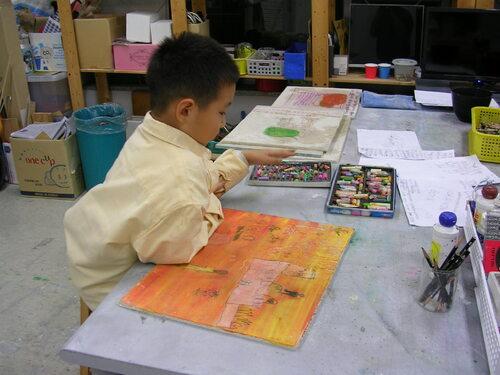 platre/ peinture/ pastel