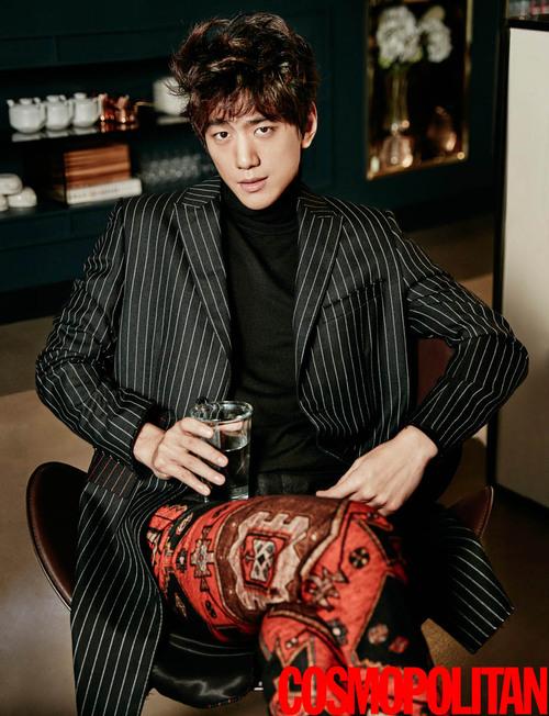 Sung Joon et Han Ye Seul pour Cosmopolitan