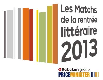 Matchs de la rentrée littéraire 2013 Price minister