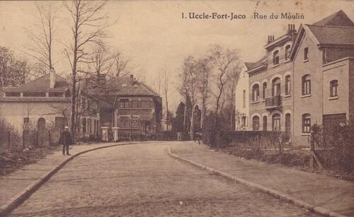 Dorisme - Vieille rue du Moulin 344, Uccle