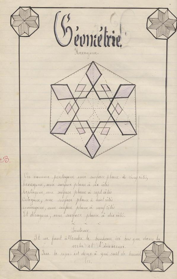 Le Cahier de Marie Bernard ( pages de 152 à 161).