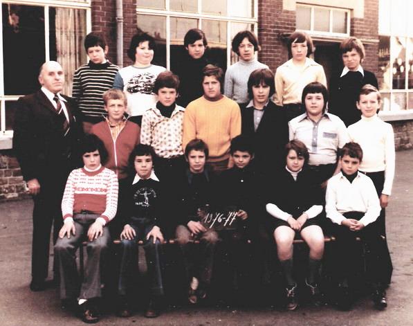 Bioul Classe de M. EVRARD 1976-1977.