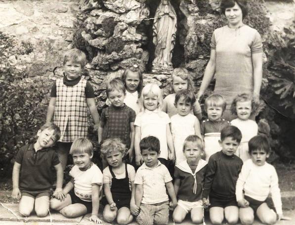 Bioul - Classe de Mme Josée REMY  1972-1973.