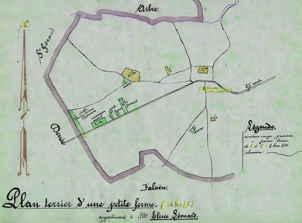 Monographie agricole de Bioul par Marcel PINON. (6)