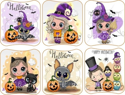 Halloween ! cartonnettes - MP