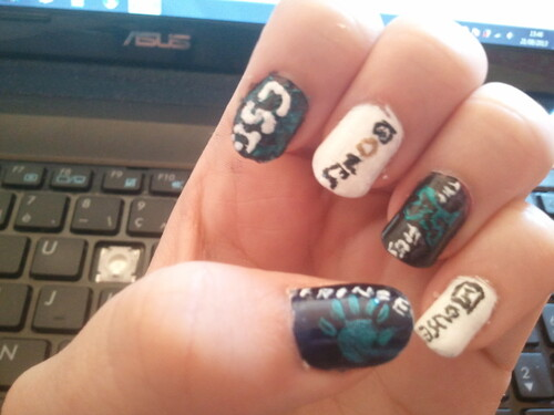 Nail art séries TV
