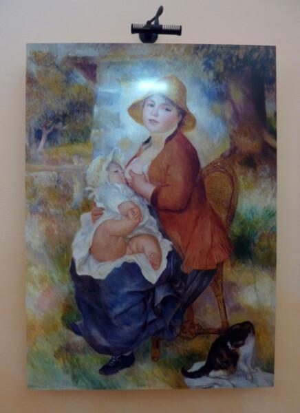 18 - L'enfant au sein ou Maternité