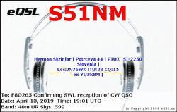 SWL CW