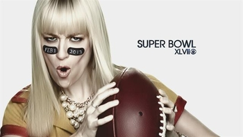 beth behrs super bowl