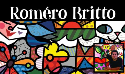 Romero Britto en arts plastiques...