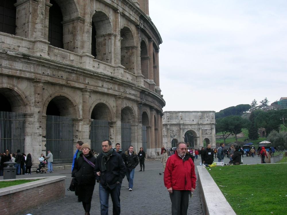 OCTOBRE 2007 - ROME  DANS  TOUTE  SA  SPENDEUR